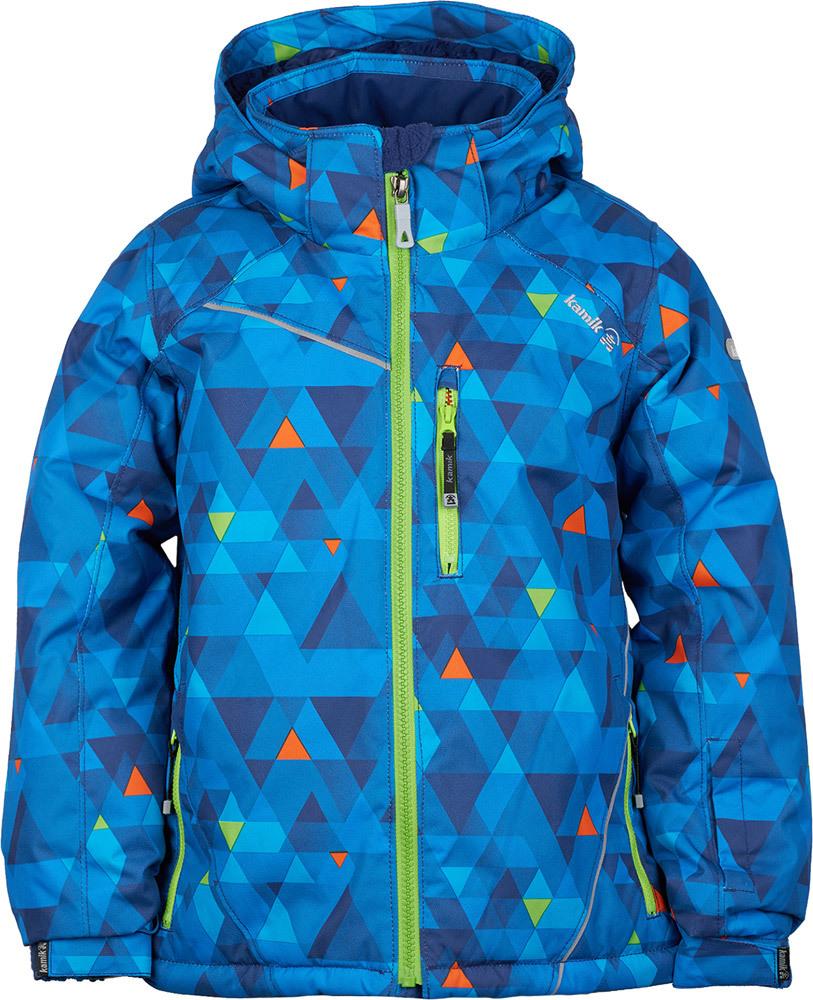 wärmende Winterjacke - Dreiecke