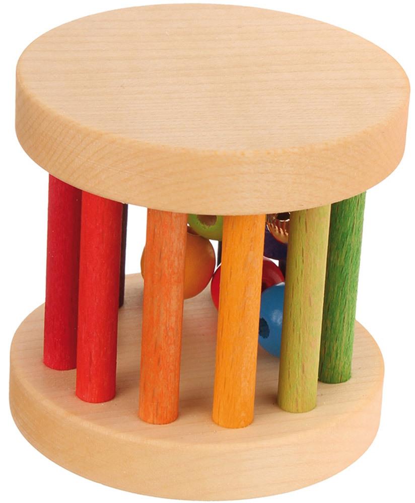 Grimm's Mini Babyroller, Regenbogenfarben  Mini Babyroller, Regenbogenfarben (08504)