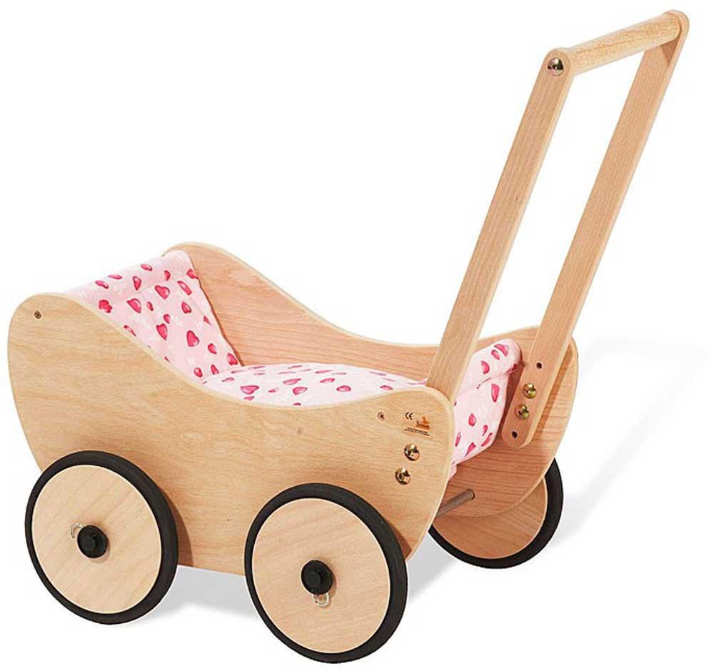 Puppenwagen Trixi mit Bettzeug