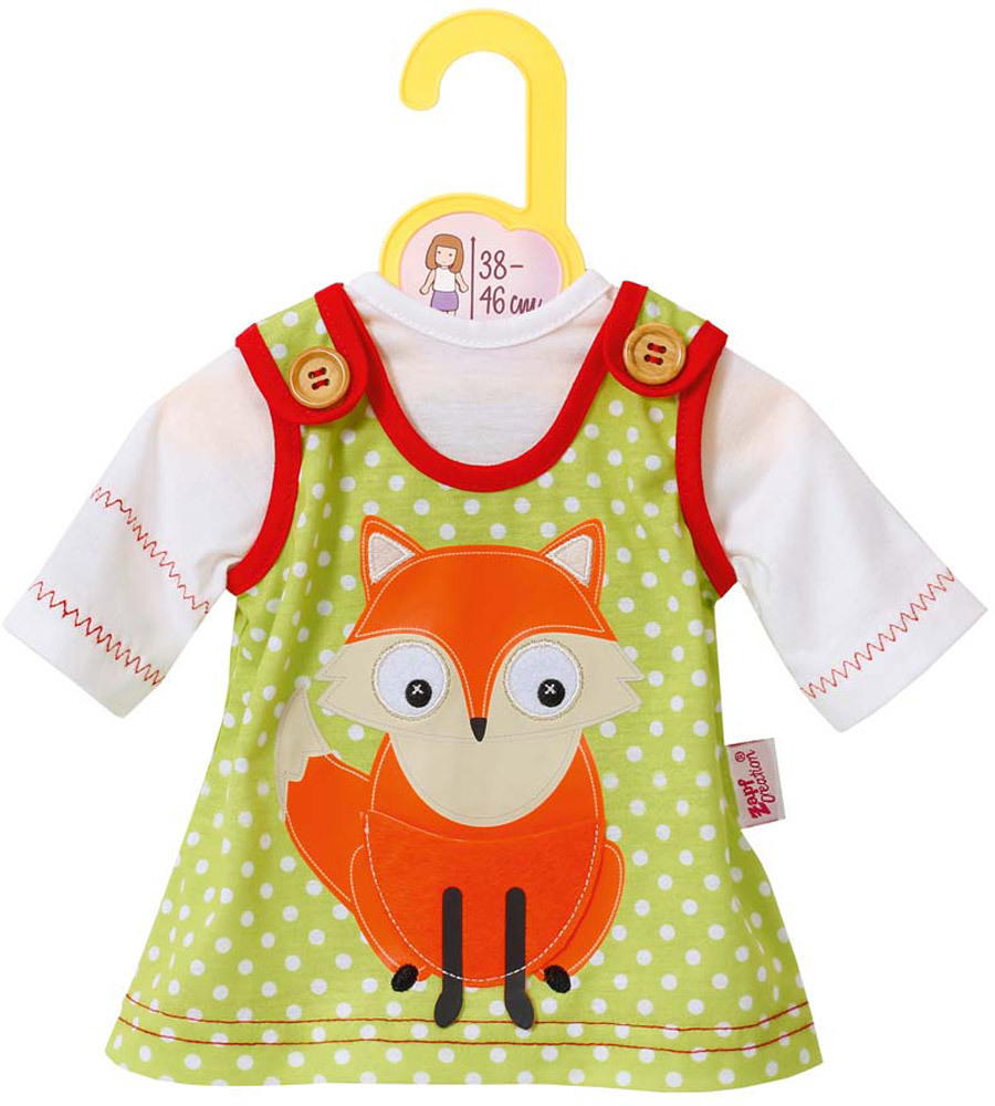 Zapf Creation Dolly Moda Kleid mit Fuchs